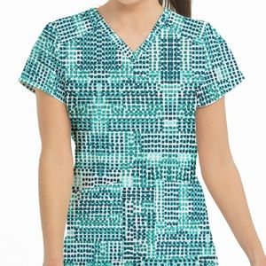 Med Couture Scrub Top 8575 SFAN